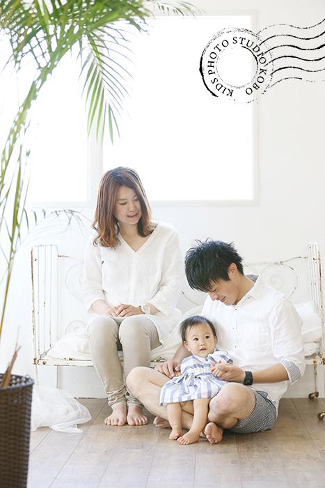 1歳バースデーフォト・家族写真