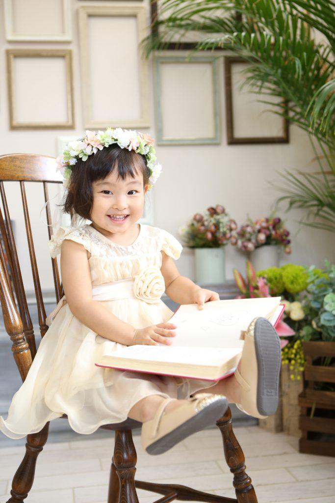 赤ちゃんドレス撮影