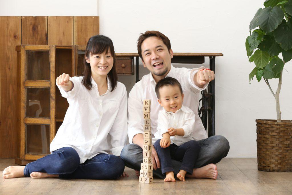 おしゃれな家族写真