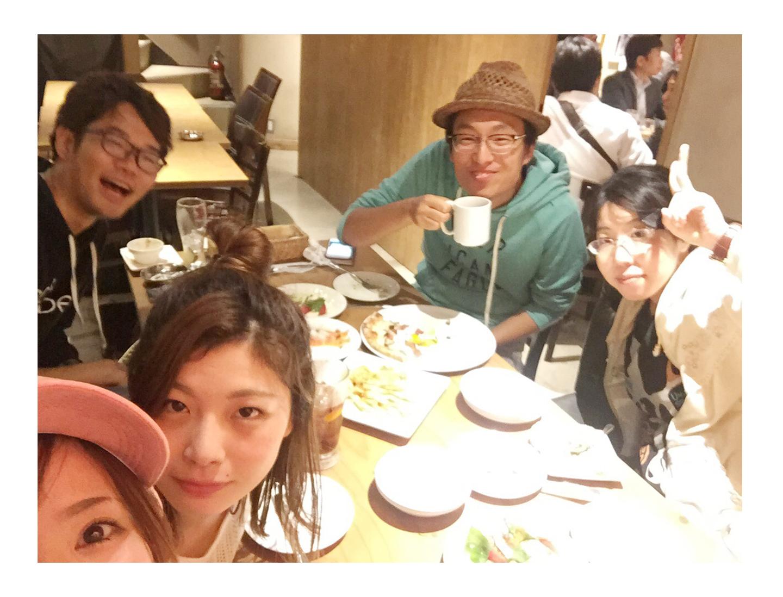 フォトスタジオコボの新メンバーご飯会