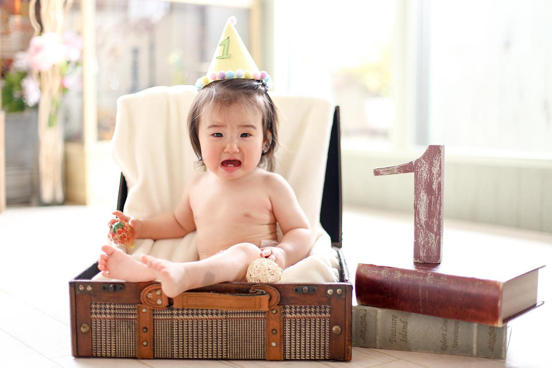 1歳バースディ1